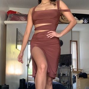 Fashion Nova Cut Out dress